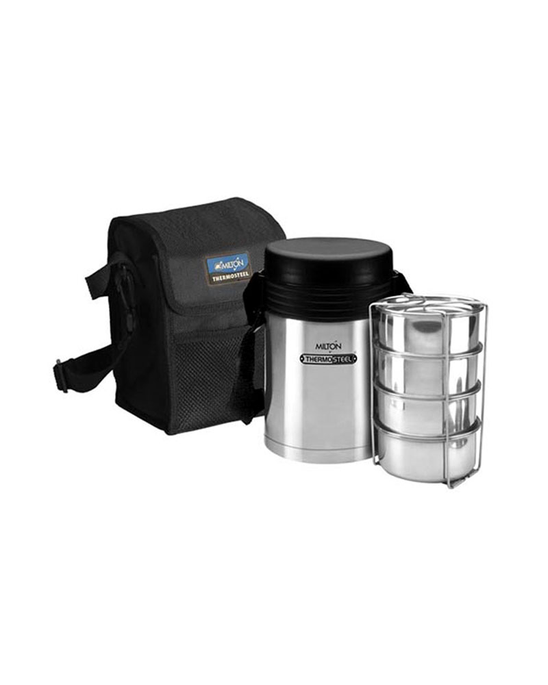 9aad59ce315e Buy-Milton Thermosteel Legend 4 Lunch Box - 4 Container -At Best ...