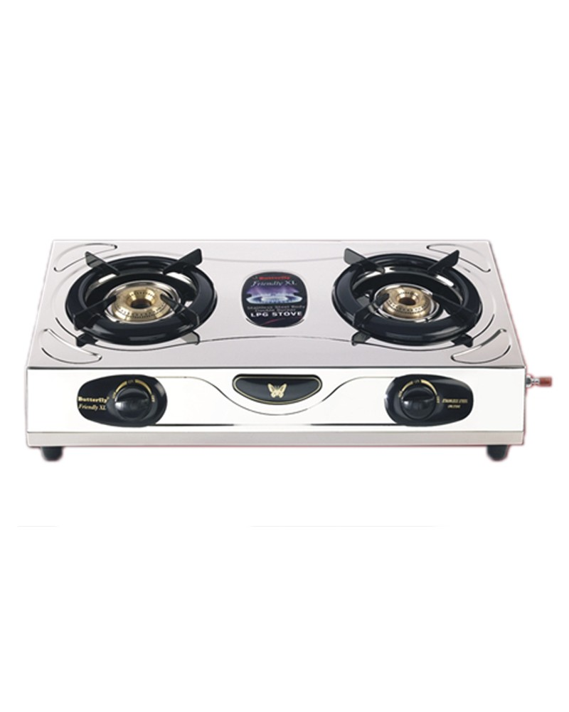 Beau Butterfly 2 Burner Friendly Gas Stove