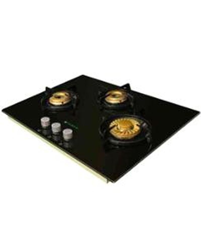 Buy Faber Built-In-Hobs 3 Burner Crystal Gas Stove 65RP HGG 653 CRS ...